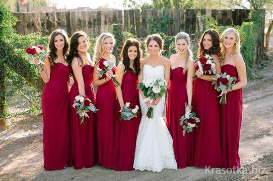 В каком цвете можно сделать свадьбу