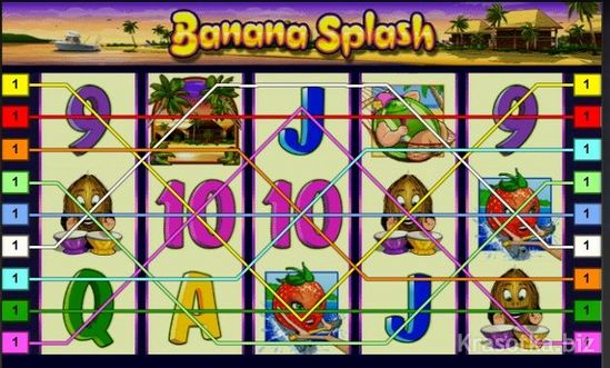 Игра Banana Splash