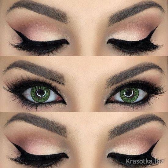 Фото зелёный цвет глаз
