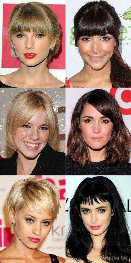 Причёски и стрижки на овальное лицо