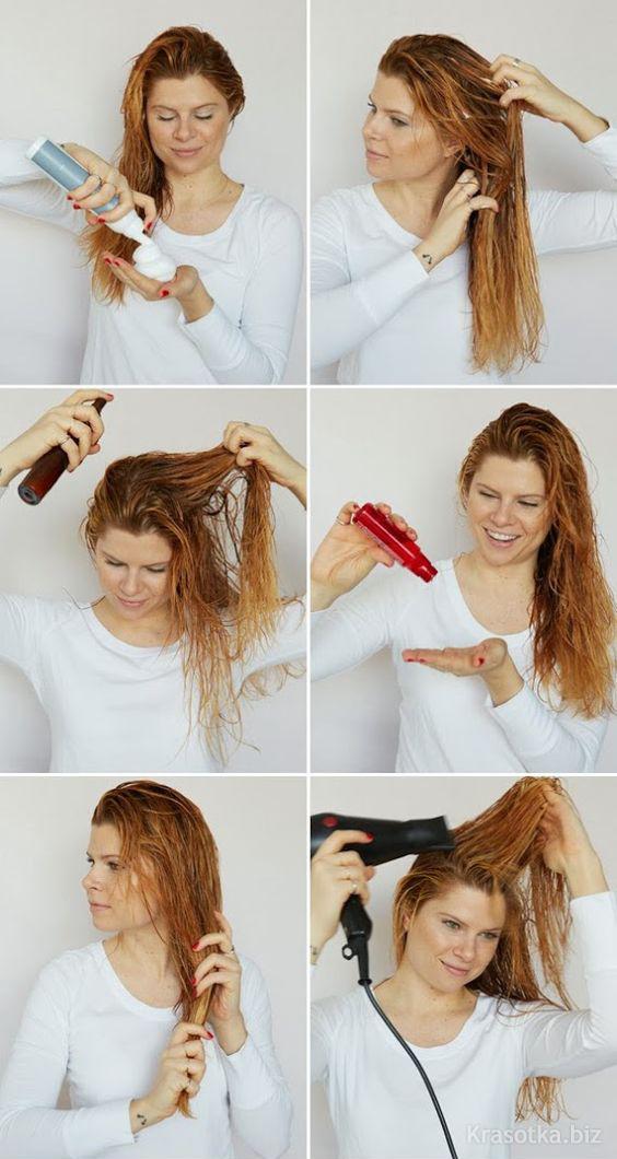 Укладки для волос в домашних условиях
