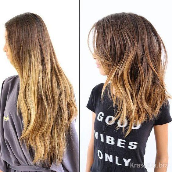 Стрижка придающая объем на тонкие длинные волосы