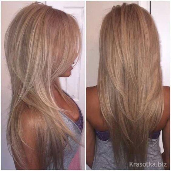 Стрижки на длинные тонкие волосы для объема