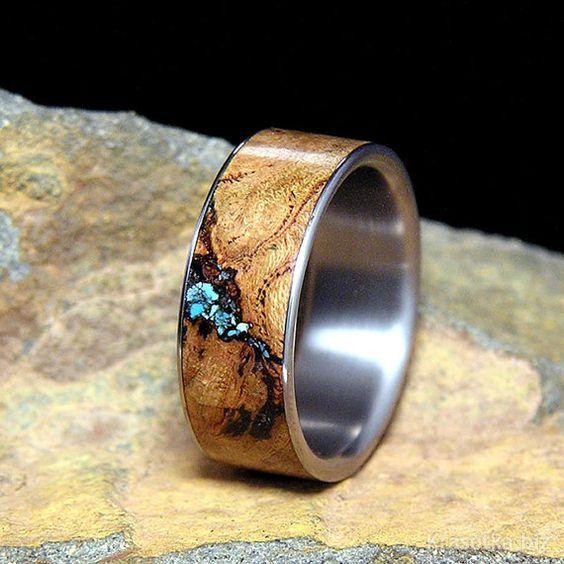 Необычные мужские обручальные кольца