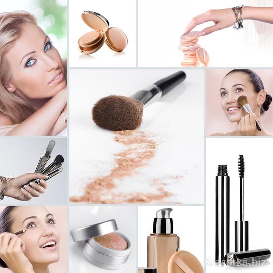 Схема лица для нанесения макияжа 24