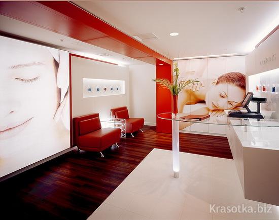 Дизайн салонов массажа