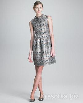 Купить вечернее платье из парчи