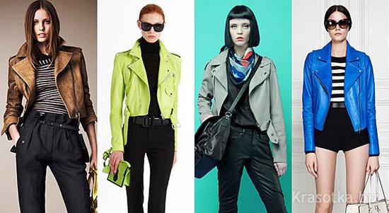 Мода На Куртки Весна 2013