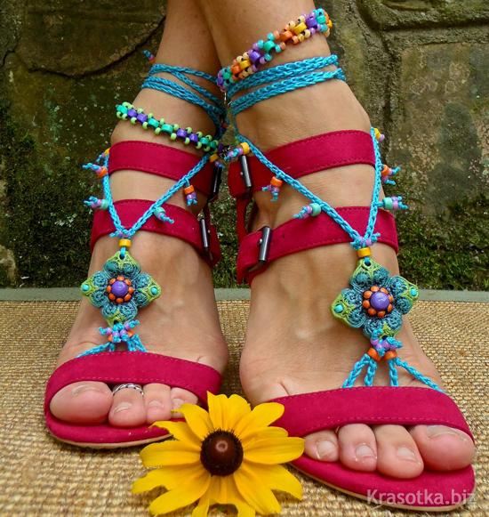 Обувь Женская Пляжная