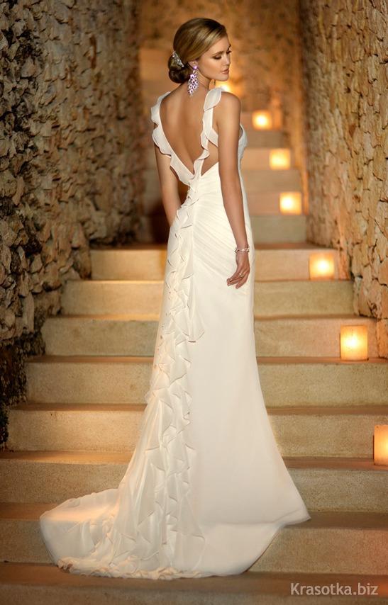 Свадебное платье для острова