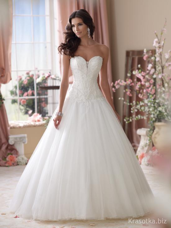 Достойное свадебное платье