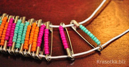 Легкие браслеты своими руками из подручных материалов