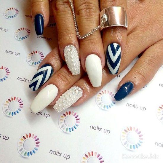 Пики дизайн ногти