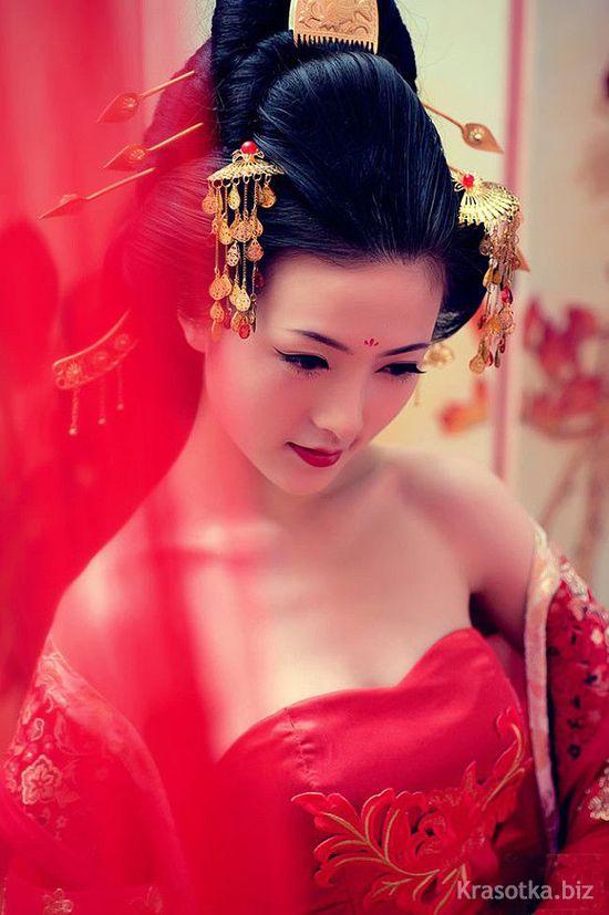 прически японских женщин