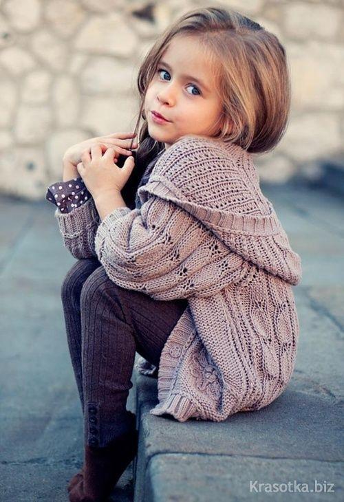 детская вязаная одежда