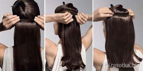 Накладные волосы эйвон