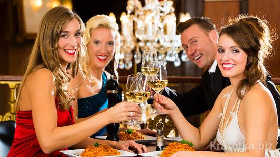 Что надеть на вечер в ресторане