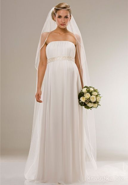 Греческое свадебное платье невест