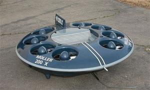 В США началось производство летающих тарелок